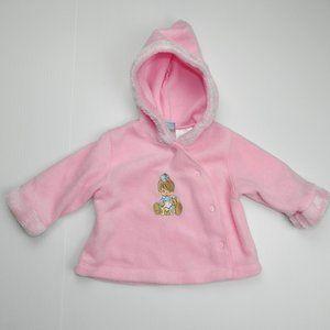 Precious Moments Girls 3-6 Months Fleece Jacket